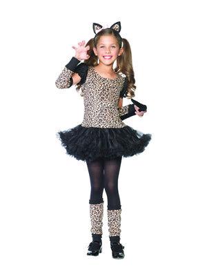 Little Leopard Girls Child Leopard Halloween Costume