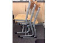 Adjustable height office/ school chairs X47
