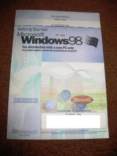 Windows 98 Operating System | eBay