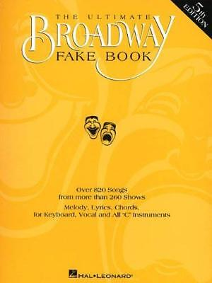 - The Ultimate Broadway Fake Book by Hal Leonard