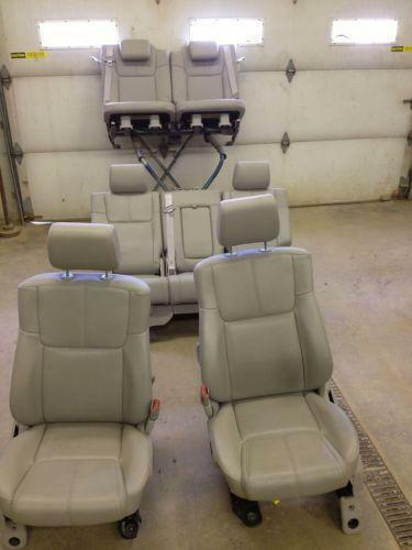 All Black Jeep >> Jeep Commander Leather Seats | eBay