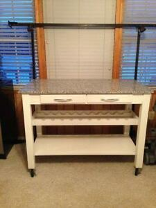 kitchen islands carts tables portable lighting ebay