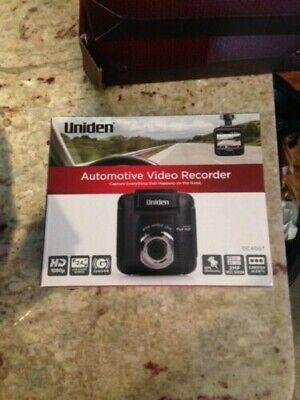 Uniden Dash Cam 1080P DC40GT Car Truck Dashboard Camera GPS RED LIGHT ALERT