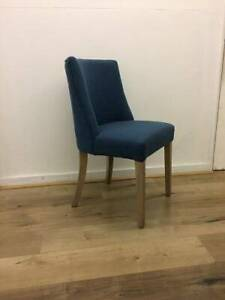 DELIVERY INCL. Ophelia Dining Chair Blue silver Ring JZP-9O4-42094