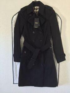 Burberry London Sandringham Long Heritage Trench Coat Black