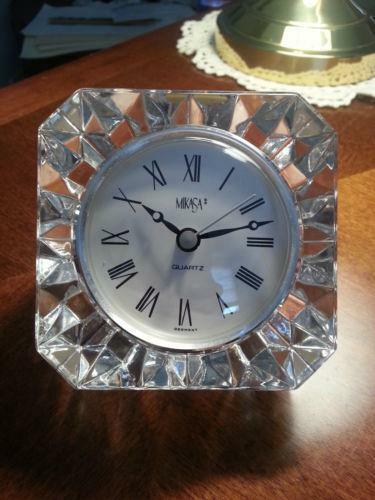 Mikasa Clock Ebay