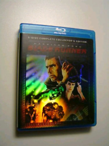Wanted: Blade Runner 5 disc Blu-Ray set