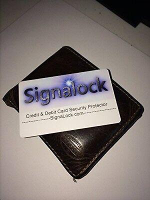 Signalock  Debit & Credit Card Protector RFID creates a signal vault