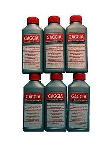 DECALCIFICANTI-GAGGIA-LIQUIDO-N-6-PEZZI-21001681