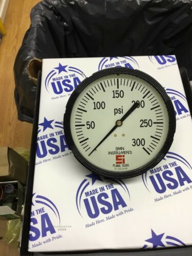 """Span instruments 4 1/2"""" face 0-300 Psi  Industrial Quality New in box USA"""