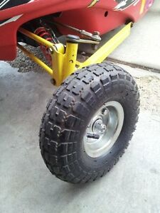 Polaris 120 Kids Snowmobile Front End Wheel Kit XCR Edge Pro X Dragon Yard Sled