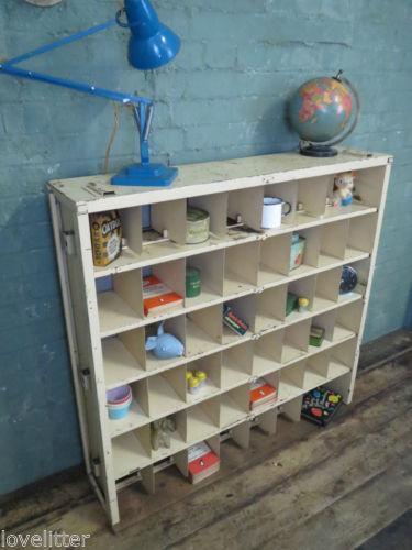 Pigeon Hole Cabinet Ebay
