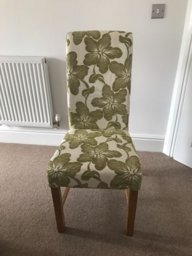 2lovely upholstered dining chairs RRP£350 Furniture Village*EXCELLENT CONDITION*