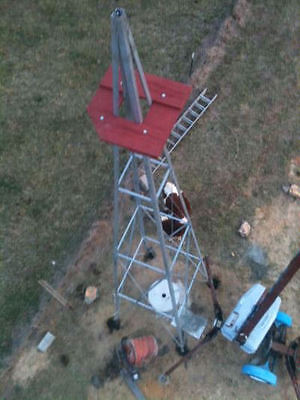 (33ft Aermotor Windmill Style Tower, New)