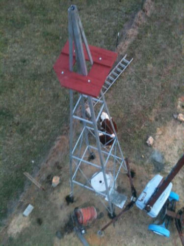 33ft Aermotor Windmill Style Tower, New, Made in the USA