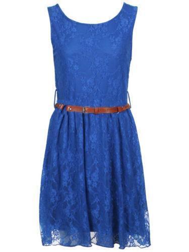 Electric Blue Dress Ebay
