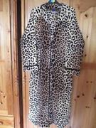 Zip Fleece Dressing Gown