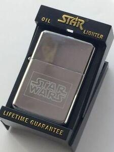 Personalizado-Star-Wars-Star-Plata-Encendedor-De-Gasolina-Tg14