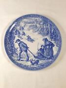 Victorian Christmas Plate