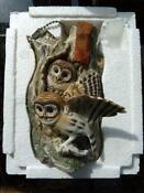 Ski Country Decanter Owl