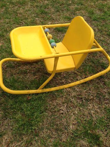 Vintage Childs Metal Chair Ebay