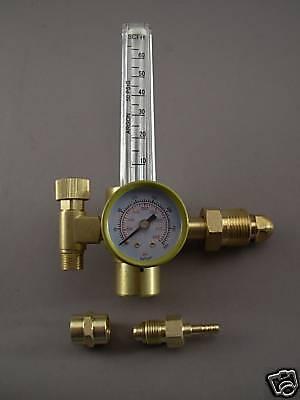 Lot Of 2 Htp Argon Co2 Mig Tig Flow Meter Regulator Welding Weld Gauge
