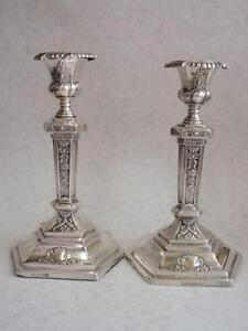 Sterling Silver Candlesticks a212329202
