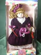 Rose Collection Porcelain Doll