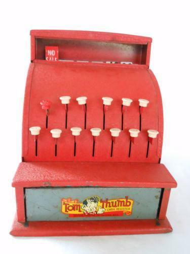 Toy Cash Register : Vintage toy cash register ebay