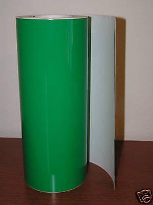 Green Vinyl 12 Roll Sign Decal Sheet Series 5 High Gloss Windowwallvehicle