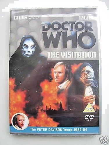 Doctor Who - The Visitation (DVD, 2004) - Peter Davidson - NEW and SEALED