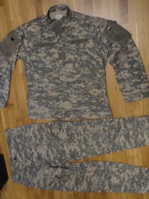 US ARMY LARGE REGULAR UNIFORM SPECIAL FORCES ACU UCP HOSE JACKE TARNANZUG SUIT