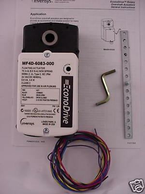 Invensys Actuator Mf4d-6083-000  Mf4d6083000 Floating Ships Same Day Purchase