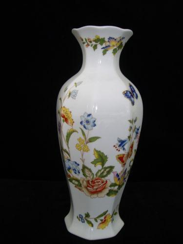 Aynsley Cottage Garden Vase Ebay