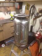 Gas Bottle Woodburner