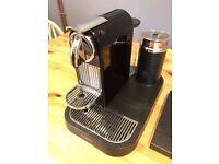 Nespresso CitiZ and Milk Magimix Coffee Machine