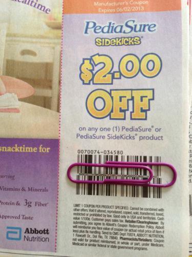 Pediasure coupons