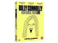 BILLY CONNOLLY High Horse Live DVD Brand New