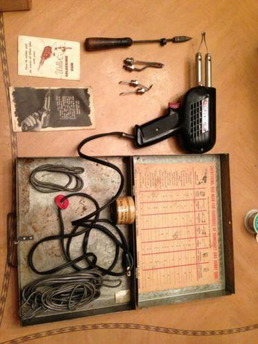 vintage weller soldering gun ebay. Black Bedroom Furniture Sets. Home Design Ideas