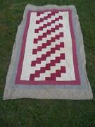 Antique Red Quilt