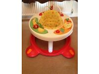 MOTHERCARE baby walker and ACTIVITY CENTRE good