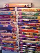 Walt Disney Masterpiece Collection VHS