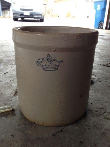 Stoneware Crock Ebay