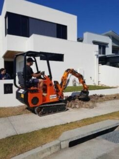 Cougar Bawoo EXL25 Mini Excavator/Mini Loader Combo, ALL IN 1
