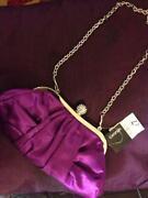 Cerise Clutch Bag