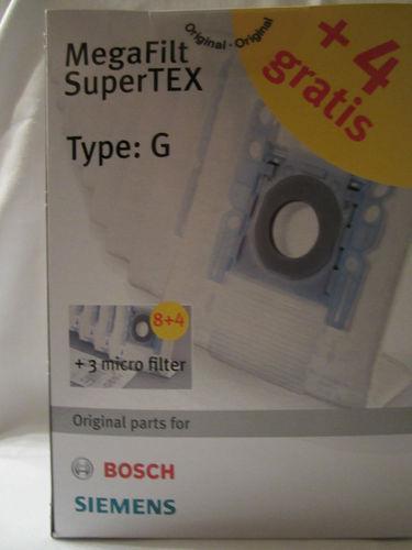 supertex typ g staubsaugerbeutel ebay. Black Bedroom Furniture Sets. Home Design Ideas