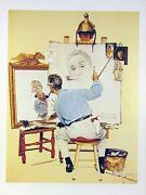 Norman Rockwell Collotype