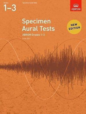 ABRSM Specimen Aural Tests Grades 1-3 - Same Day P+P