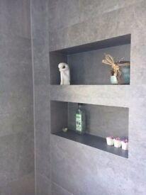 Porcelanosa Rodano Silver wall tiles 31.6cm x 90 cm - 1 box (4 tiles)