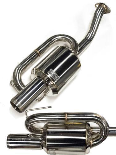 mugen twin loop exhaust ebay